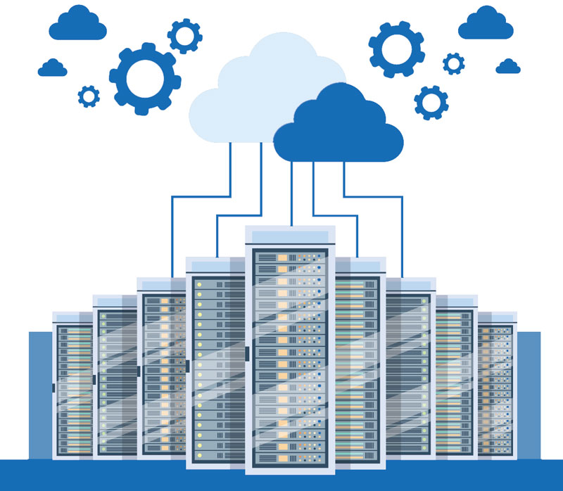 business cloud services servers