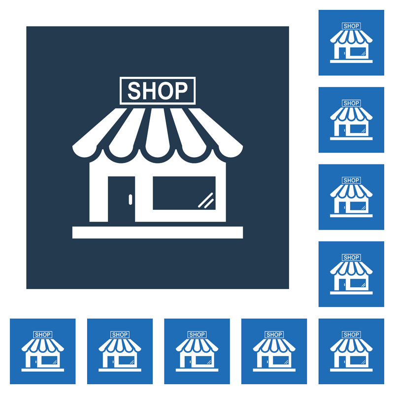 small business IT support for multiple business locations illustration